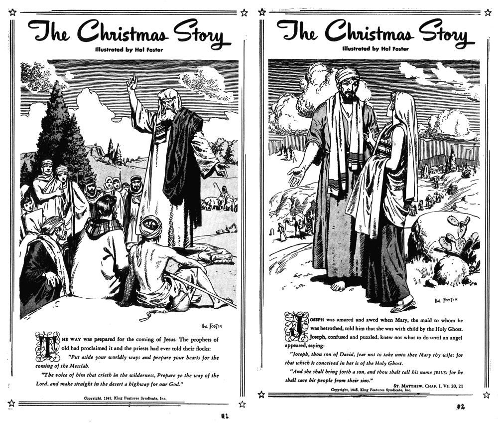 The Christmas Story, December 20 and 21, 1948