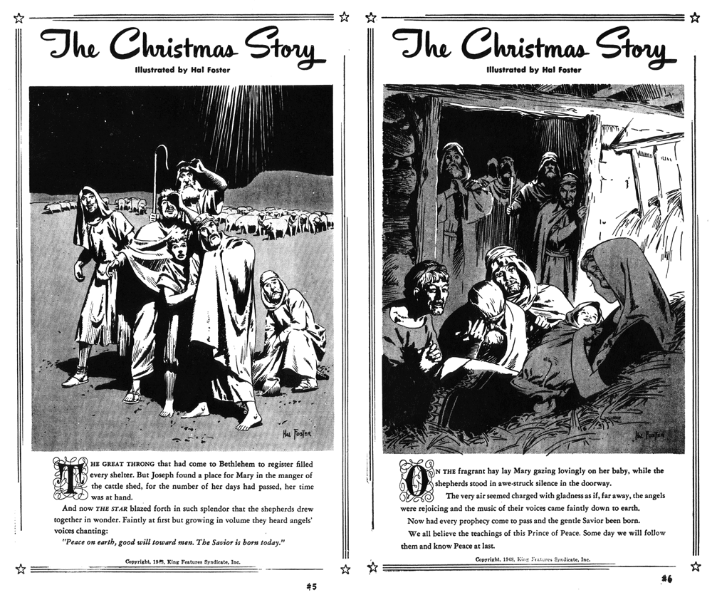 The Christmas Story, December 24 and 25, 1948