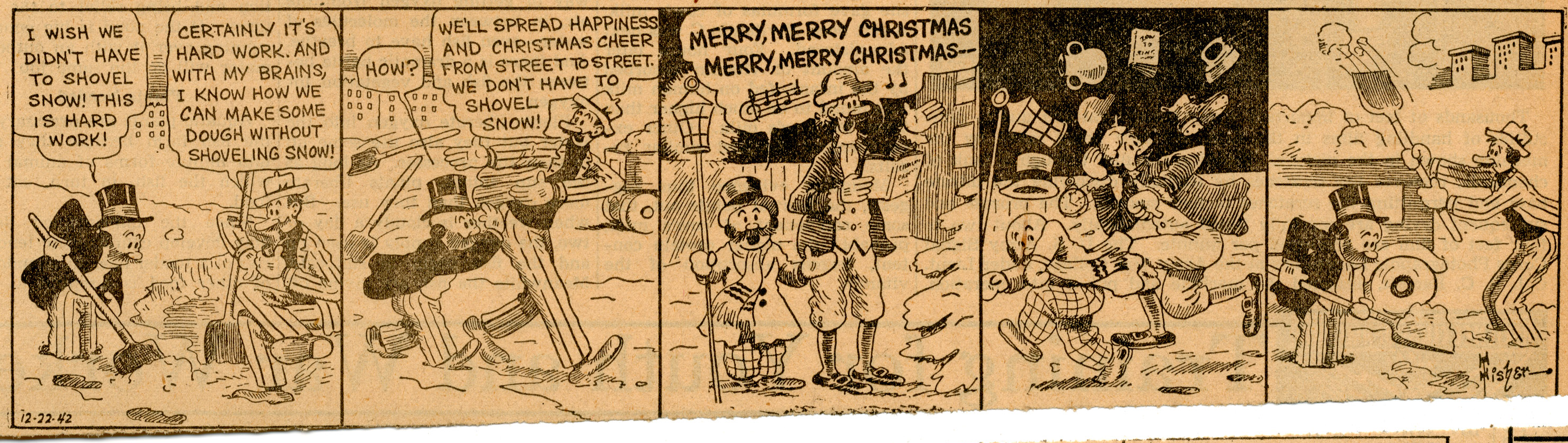 Mutt and Jeff, December 22, 1942