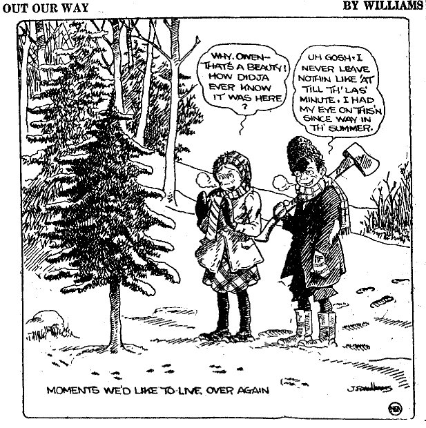 Out Our Way, December 21, 1922