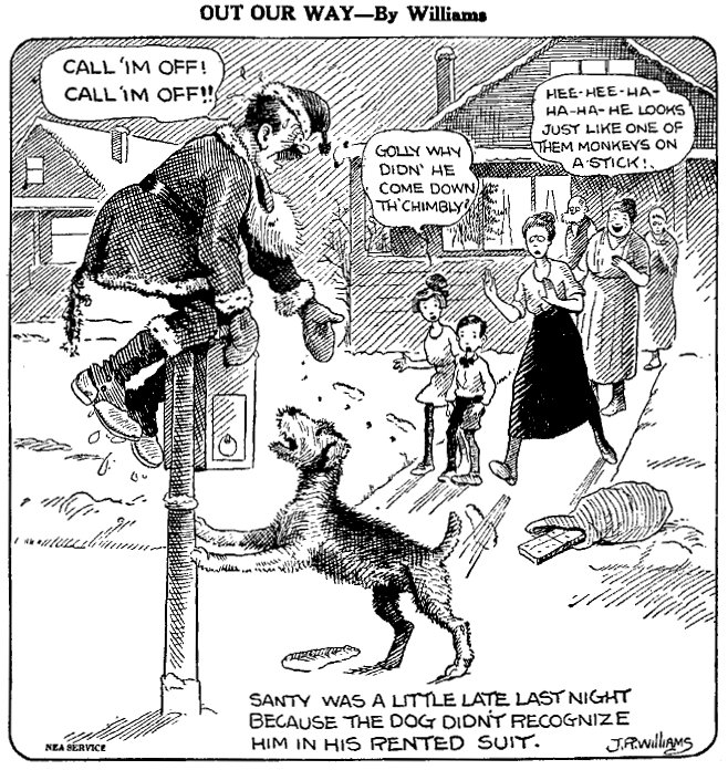 Out Our Way, December 25, 1922