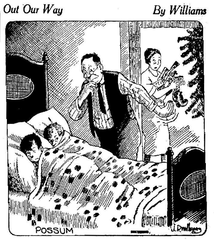 Out Our Way, December 24, 1922