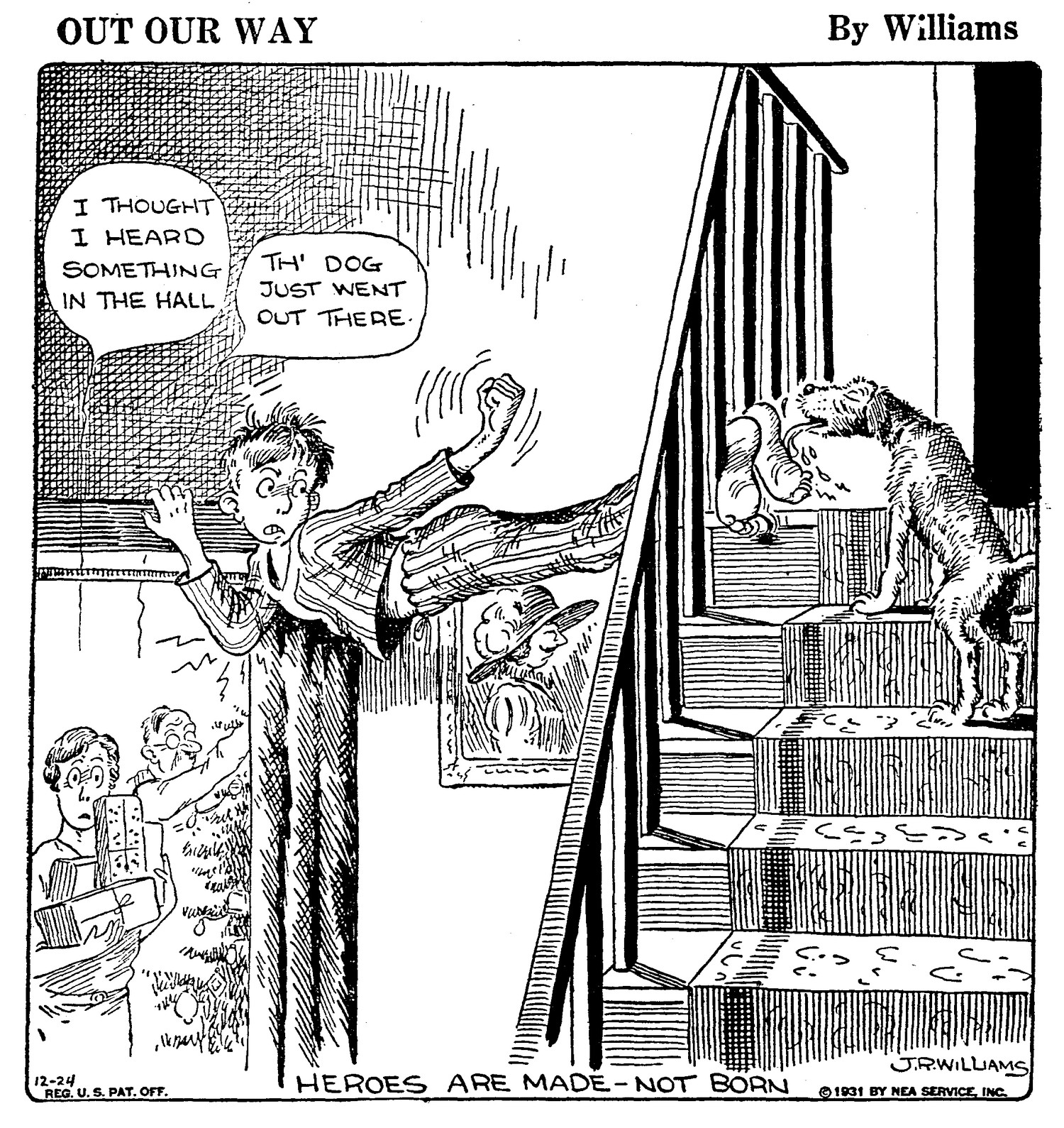 Out Our Way, December 24, 1931