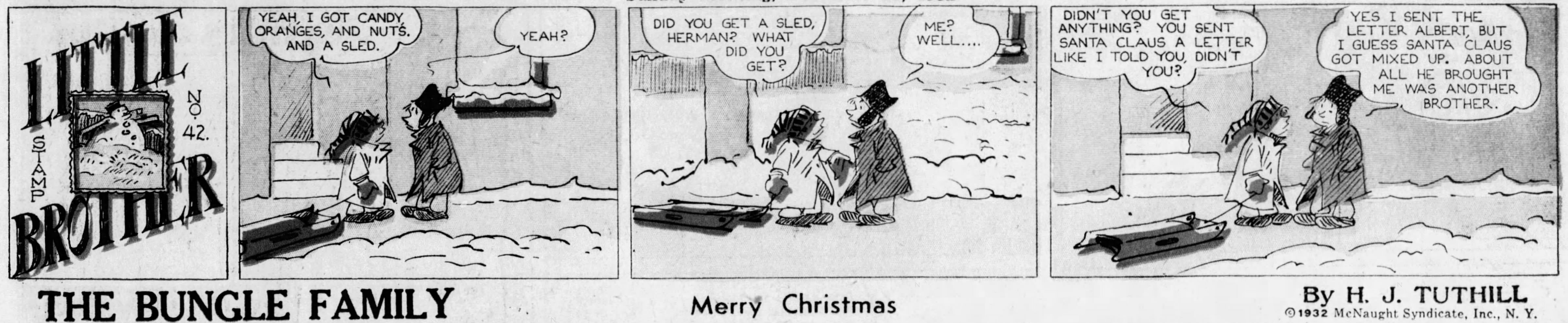 Little Brother, December 25, 1932
